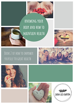 Knowing your body and how to maintain he