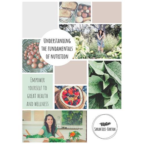 Understanding the Fundamentals of Nutrition E-book