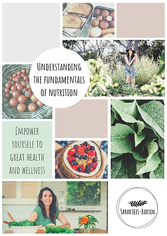 Understanding fundamentals of nutrition