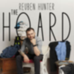 The Hoard poster. Design: Anna Piper Scott, Photography: Shaun Ferraloro