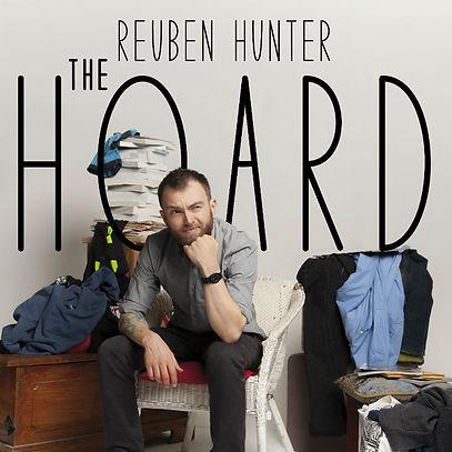 The Hoard poster. Design: Anna Piper Scott, Photography: Shaun Ferraloro