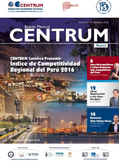 Boletín CENTRUM Alumni N° 14
