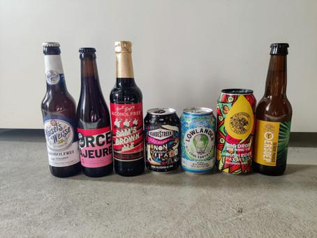 Proeverij met alcoholvrij bier van OnderNulPuntVijf