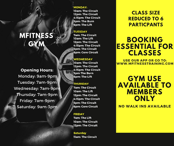 Copy of Black and Yellow Fitness Trifold