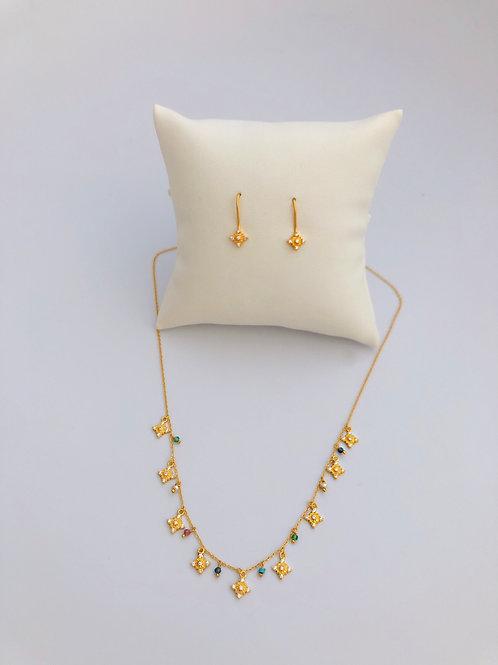 Vermeil Jewelry Set