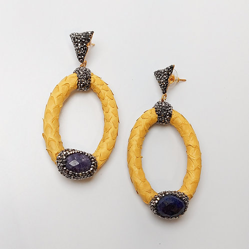 Fashion Leather Earring