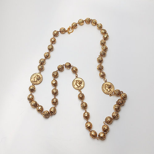 Fashion Coin Necklace