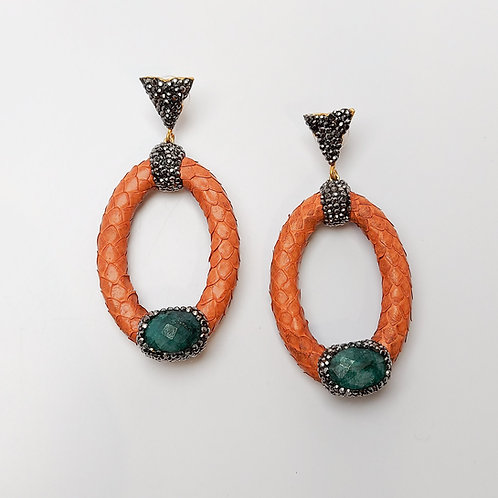 Leather Fashion Earring
