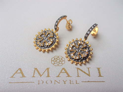 22k Gold Vermeil Earrings