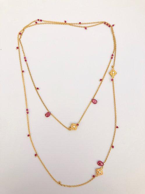 Long Handmade Necklace
