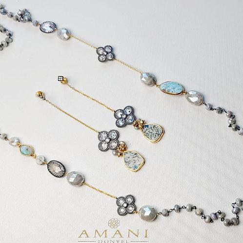 Handmade Neckace & Earring Set