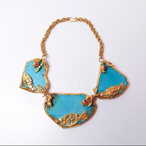 Extravagant Turquoise Necklace