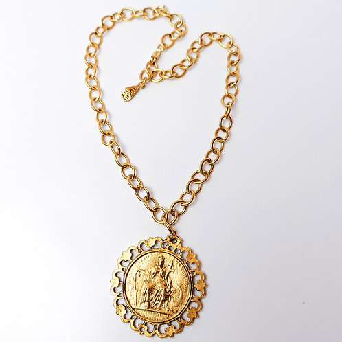 Extravagant Coin Necklace
