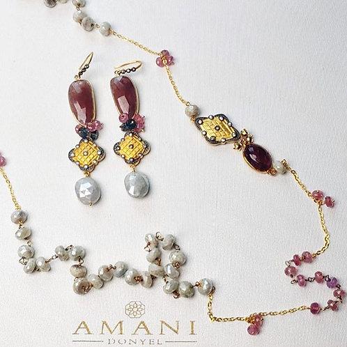 Handmade Necklace & Earring Set