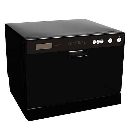 Countertop Dishwasher Black
