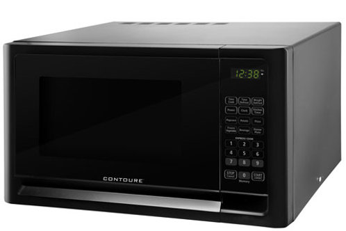 0.7 cu.ft Countertop Microwave Oven - Black Onyx
