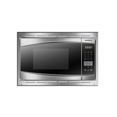 BUILT-IN 0.7 Cu. Ft. Deluxe Microwave Oven w/ Trim Kit - Stainless Steel