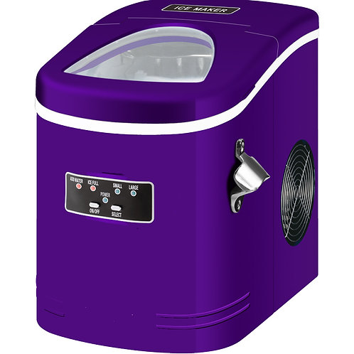 Compact and Portable Ice Maker, Purple