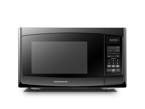 1.0 cu.ft Mid-Size Built-In Microwave Oven, Black Onyx