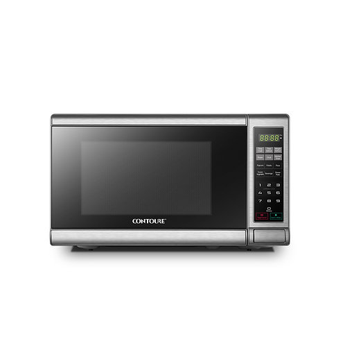 0.7 cu.ft Countertop Microwave Oven - Stainless Steel