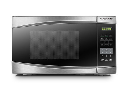 0.7 Cu. Ft. Deluxe Countertop Microwave Oven - Stainless Steel