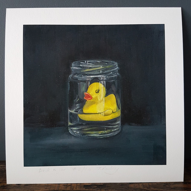 Duck in Jar