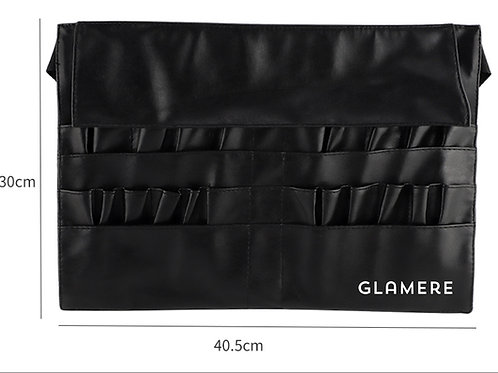 The Glamere Tool belt - 22 Pockets Professional Cosmetic Makeup Brush Ba
