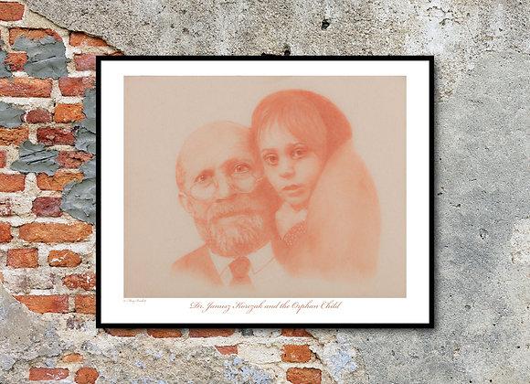 "Dr. Janusz Korczak Print - Beloved: Children of the Holocaust (11"" x 14"")"