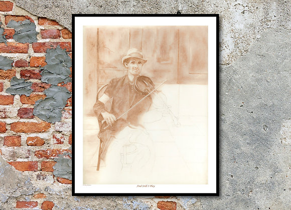 """And Still I Play Print - Beloved: Unfinished Lives (11"""" x 14"""")"""