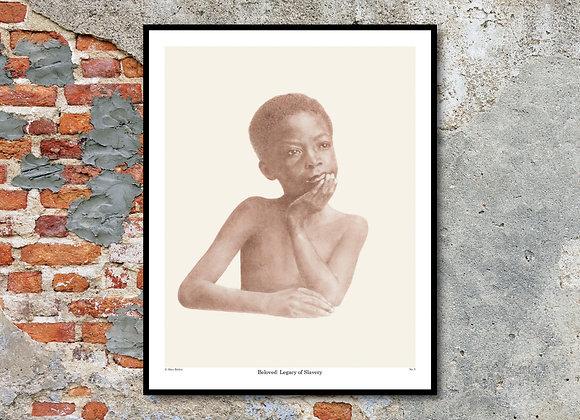 "Portrait No. 5 Print - Beloved: Legacy of Slavery (11"" x 14"")"