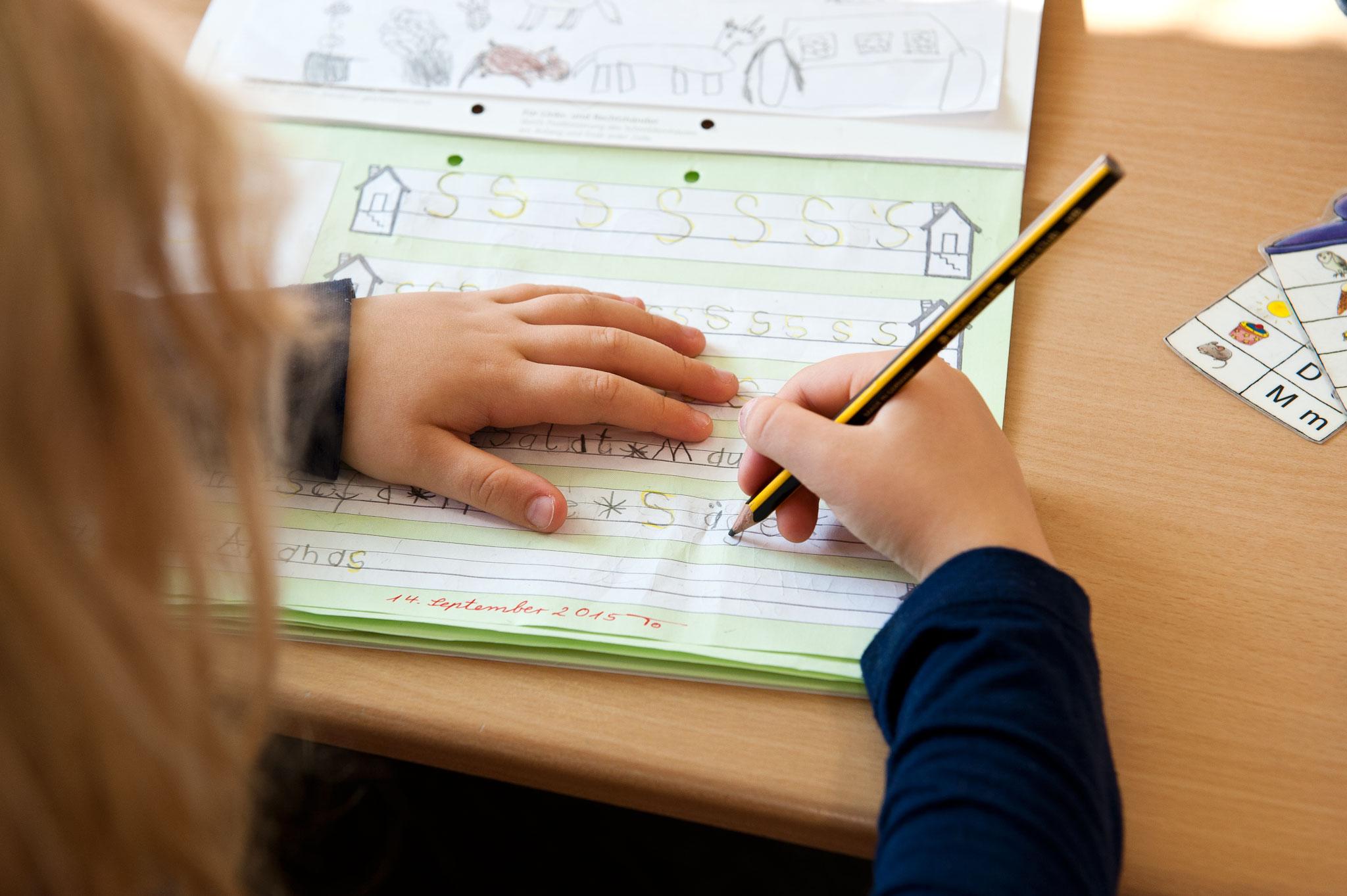 Montessori-GS-Schreibheft