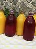 fresh orange bottle