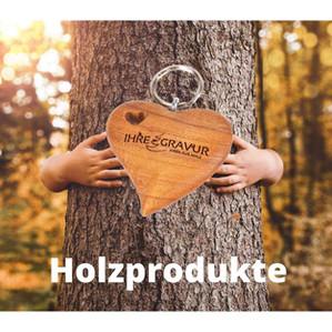 Holzprodukte mit Herz