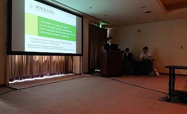 【学会発表/Conference】 MNC 2019 (広島)にて、蒲生君(M2)、島内君(M2)が口頭発表を行ないました。