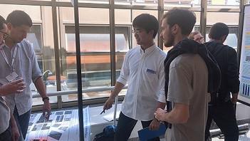 【学会発表/Conference】 Nanowire Week 2019 (ピサ、イタリア)にて、赤松君(M2)、勝見君(M1)が発表を行ないました。