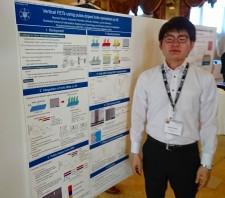 【学会発表/Conference】 Nanowire Week 2018 (ハミルトン、カナダ)にて、本久教授、冨岡准教授、蒲生君(M1)が発表を行ないました。