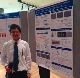 【学会発表/Conference】 MSS-18 / EP2DS-22 (ペンシルバニア、アメリカ)にて、冨岡准教授が口頭講演、南祐輔君(M1)がポスター講演を行ないました。