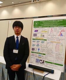 【学会発表/Conference】 第37回電子材料シンポジウム(EMS 37)にて、赤松知弥君(M1)、本久教授、冨岡准教授がポスター発表を行ないました。
