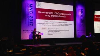 【学会発表/Conference】 MNC 2017にて、吉田旭伸君(M2), 千葉康平君(M2)が口頭発表を行ないました。
