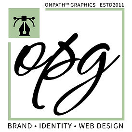 OnPath Graphics, graphic design logo