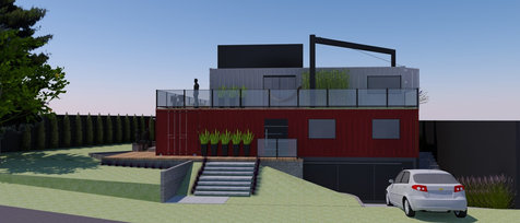 Casa Container - Vista Alegre