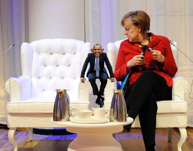 SO WHAT THE HELL WAS GOING ON BETWEEN OBAMA AND ANGELA MERKEL?