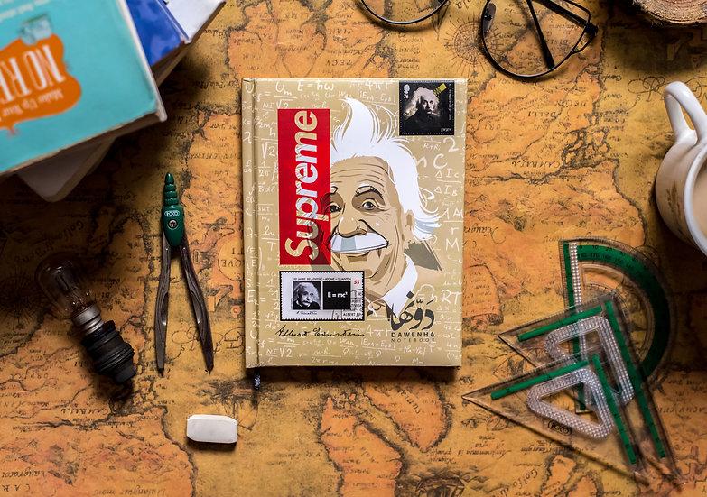 Einstein  Notebook+Sticker sheets
