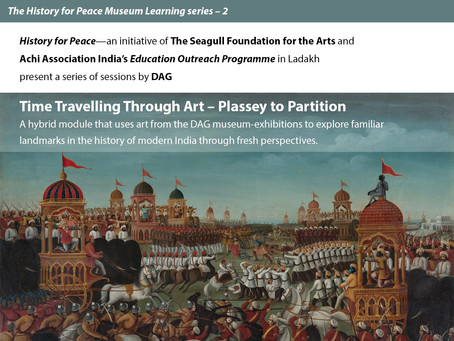 Time Travelling through Art: Plassey to Partition