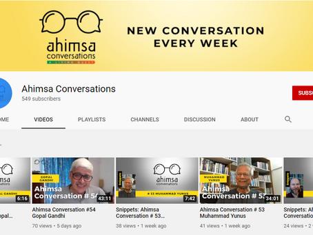 Ahimsa Conversations by Rajni Bakshi