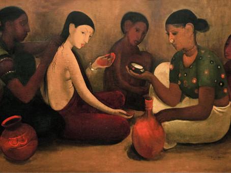 In Art: 20th century India