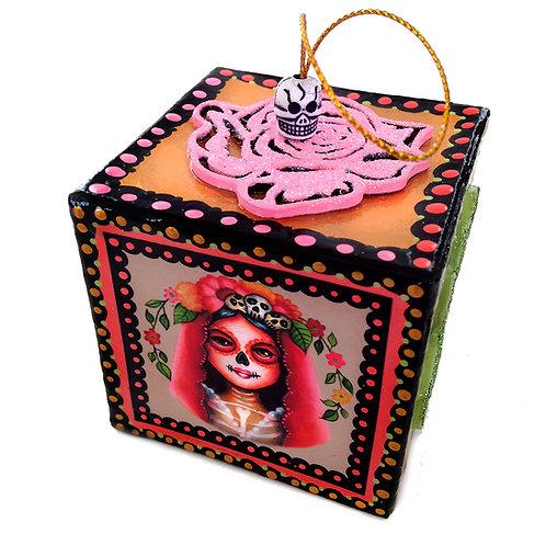 Muertita II Box Ornament