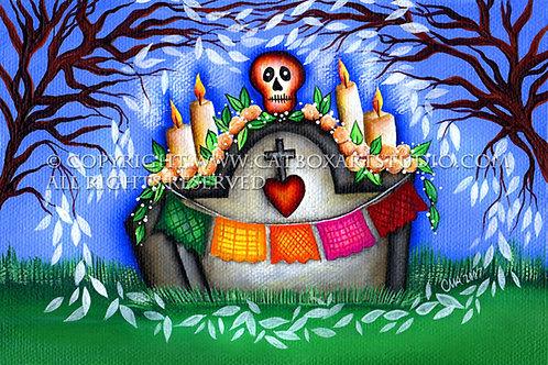 Caiga En El Cementerio