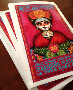 Day of the Dead Zona Rosa Caffe 2014