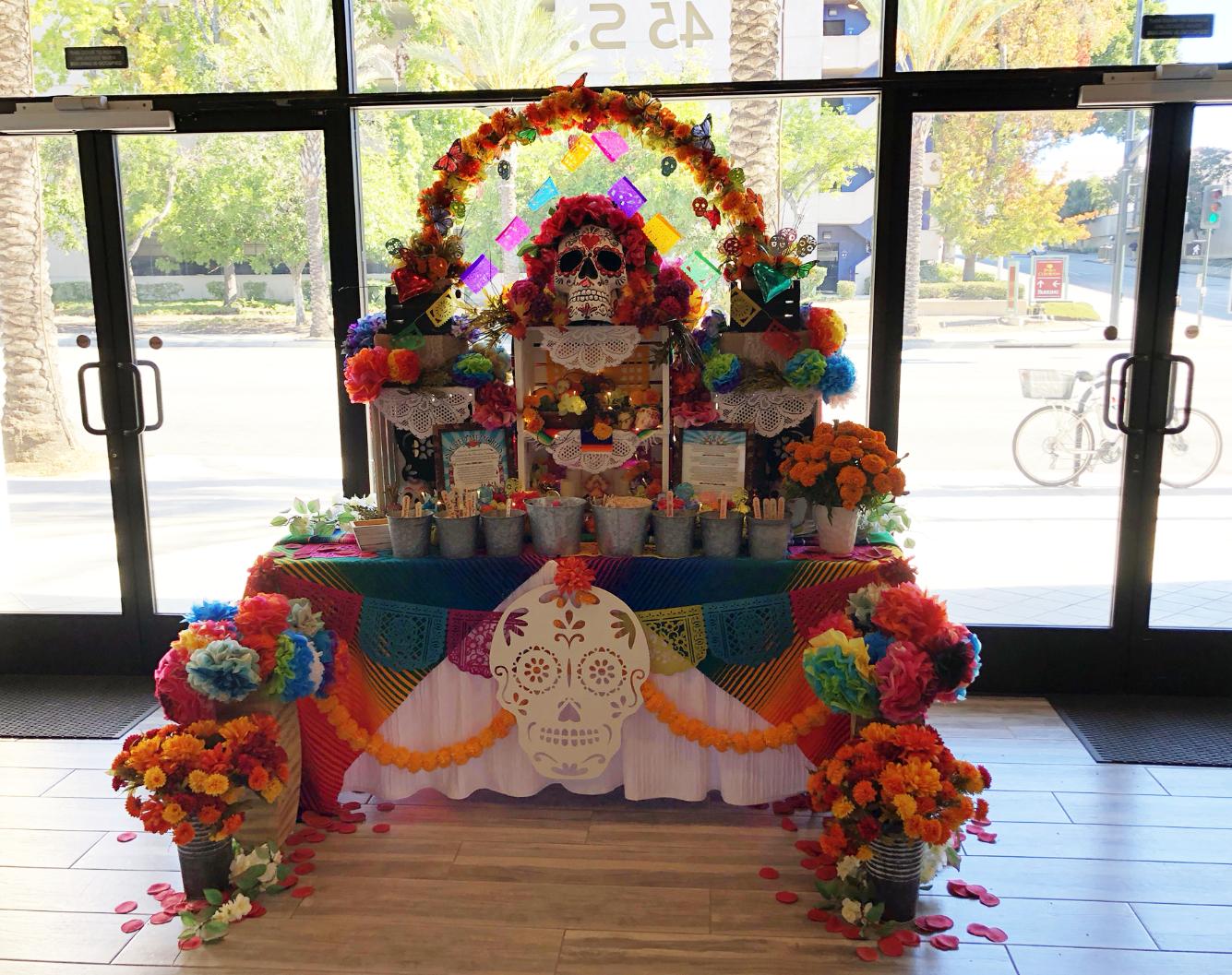 Sacred Memories Community Altar 2018